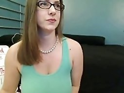Cute big titted Ant on webcam