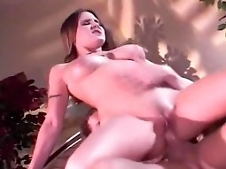 Nevaeh Ashton Pumped Hard From The Back
